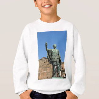 Statue of Trajan in Rome, Italy Sweatshirt