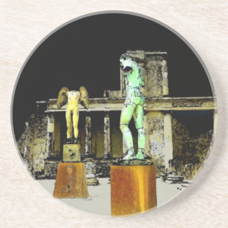 Statues in Pompeii Italy - Beautiful Discovery Coaster
