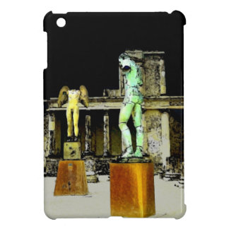 Statues in Pompeii Italy - Beautiful Discovery Cover For The iPad Mini