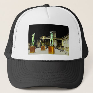 Statues in Pompeii Italy - Beautiful Discovery Trucker Hat