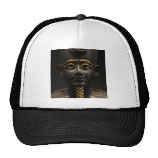 Statuette of Late Period Egyptian God Osiris Hats
