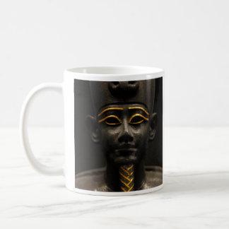 Statuette of Late Period Egyptian God Osiris Coffee Mugs