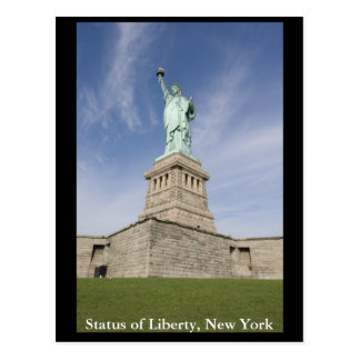 Status of Liberty, New York Postcard