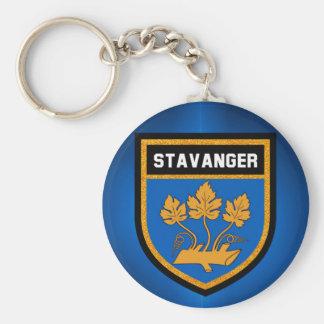 Stavanger  Flag Key Ring