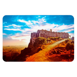 Stavrovouni Monastery Cyprus Rectangular Photo Magnet