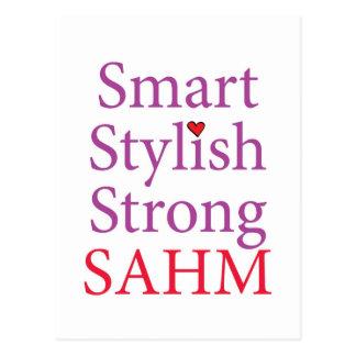 Stay At Home Mom - SAHM Postcard