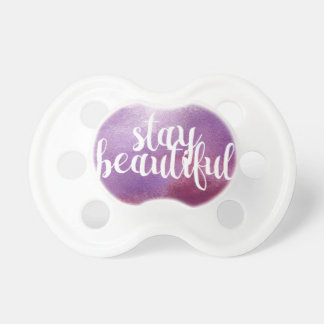 Stay Beautiful watercolor Dummy