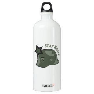Stay Brave Water Bottle