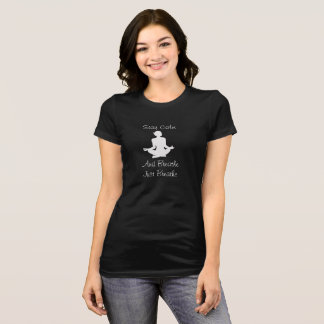 Stay Calm and Breathe -- Yoga T-shirt