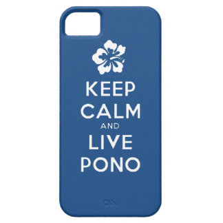 Stay Calm and Live Pono iPhone 5 Cover