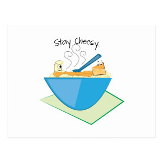Stay Cheesy Postcards