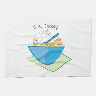 Stay Cheesy Tea Towel