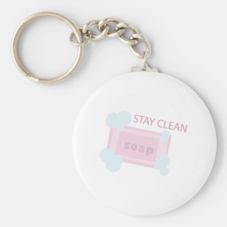 Stay Clean Keychains