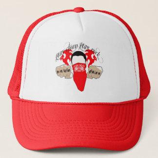 stay clean stay rock trucker hat