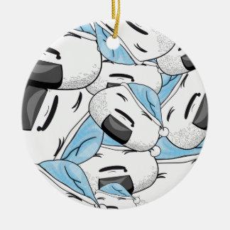 Stay close to me - Dream Ceramic Ornament