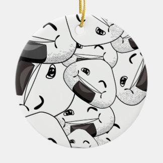 Stay close to me - Happy Ceramic Ornament