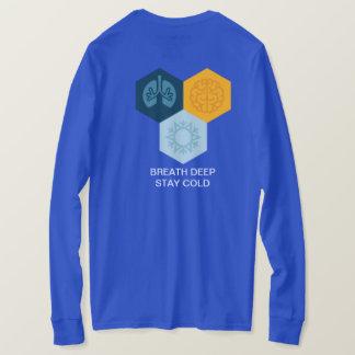STAY COLD-BREATH DEEP big T-Shirt