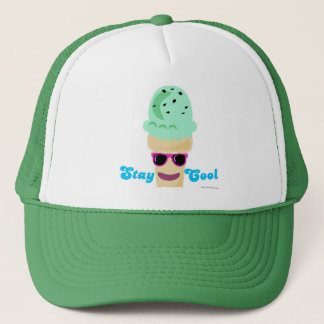 Stay Cool Ice Cream Trucker Hat