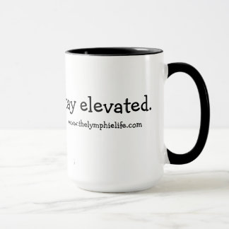 Stay Elevated Butterfly 15oz Ringer Mug