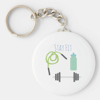 Stay Fit Keychains