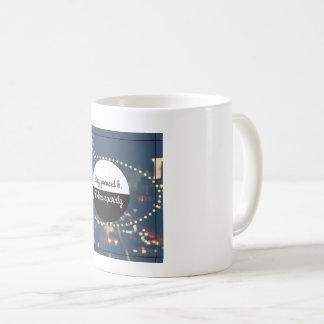 Stay Focused and Extra Sparkly Coffee Mug
