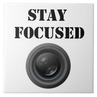 stay focused ceramic photo tile