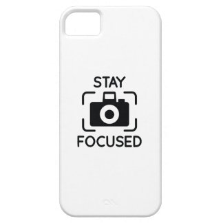 Stay Focused iPhone 5 Cover