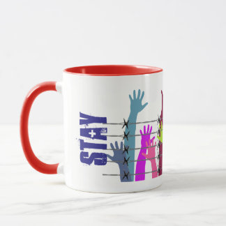 Stay Free Graphic Mug