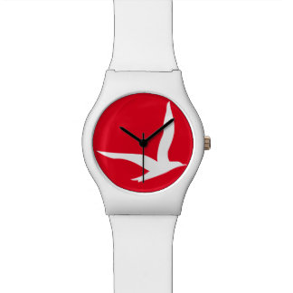 Stay Free Watch (Red)
