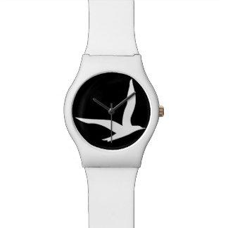 Stay Free Watch (White n Black)