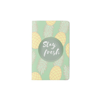 Stay Fresh Pocket Notebook - Mint Pastel
