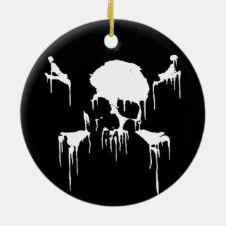 Stay Frosty Round Ceramic Decoration