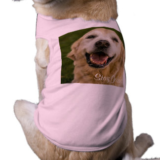 """Stay Golden"" Golden Retriever Ribbed Tank Top"