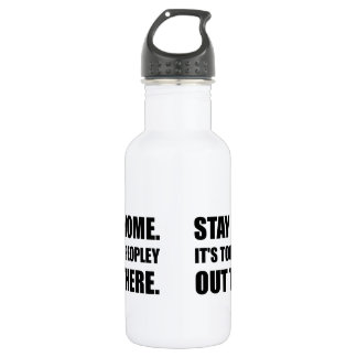 Stay Home Too Peopley 532 Ml Water Bottle