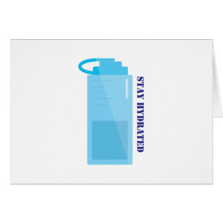 Stay Hydrated Cards