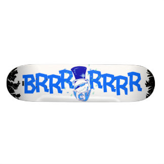 STAY ICY deck Custom Skate Board