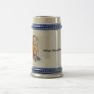 Stay inspired by the late, great Andrew Breitbart Beer Stein