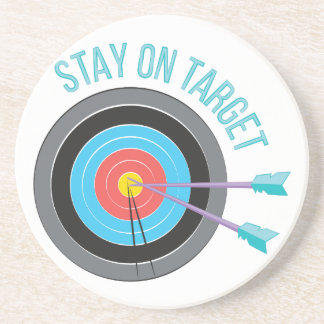 Stay On Target Coaster
