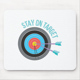 Stay On Target Mouse Pad