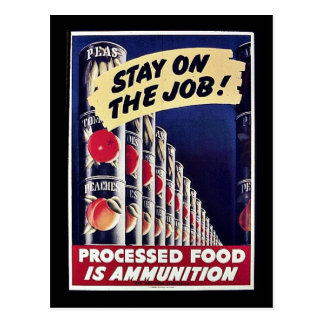 Stay On The Job! Postcards