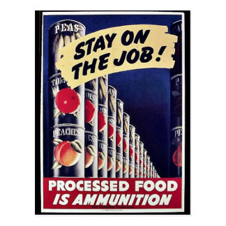 Stay On The Job! Post Card