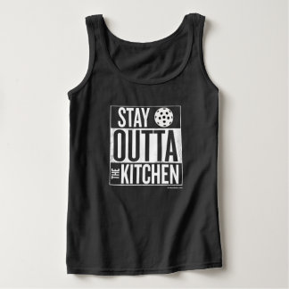 """Stay Outta the Kitchen"" Pickleball Tank Top"