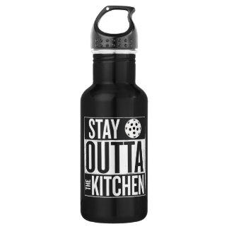 """""""Stay Outta the Kitchen"""" Pickleball Water Bottle 532 Ml Water Bottle"""
