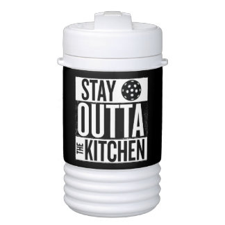 """Stay Outta the Kitchen"" Pickleball Water Jug Cooler"