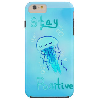 Stay Positive Jellyfish Case