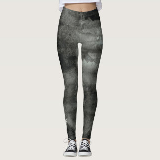 Stay positive - motivational quote leggings