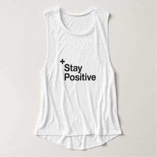 Stay positive - Motivational Singlet