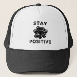 """Stay Positive"" Trucker Hat"