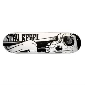 stay rebel Wood board Skateboard Deck