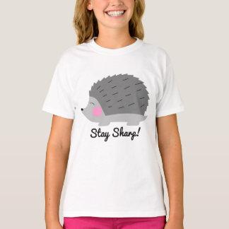 Stay Sharp Hedgehog Girls T-Shirt